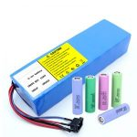 Lithium Battery 18650 60V 12AH lithium ion rechargeable scooter battery pack