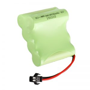 NiMH Rechargeable Battery AA2400 6V Rechargeable electric toys tools Battery Pack