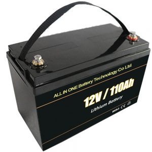 Lead acid replacement solar storage battery 12V 110Ah lifepo4 lithium battery