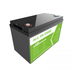ALL IN ONE Lifepo4 12v 100ah lfp battery forarine Boat Rv Caravan