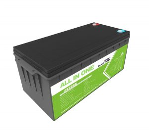 Long Life Rechargeable Backup Power 12.8v 200ah LiFePO4 Battery For Golf Cart