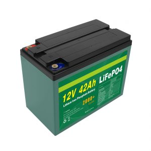 Maintenance Customized Solar 12v 40ah 42ah Lifepo4 Cell Lifepo4 Battery Pack With BMS