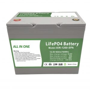 Factory sell 12.8V60Ah plastic home battery 2000 cycles lifepo4 battery 12v for home energy