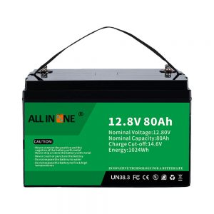 Most Popular Lead Acid Replacement Solar RV Marine LiFePO4 12V 80Ah Lithium Battery