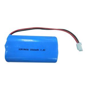 Lithium Battery 18650 2000mAH 7.4V