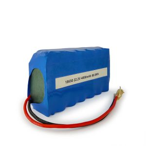 Customized ICR18650 li-ion battery 6S2P rechargeable 22.2v 4000mAh Lithium ion battery
