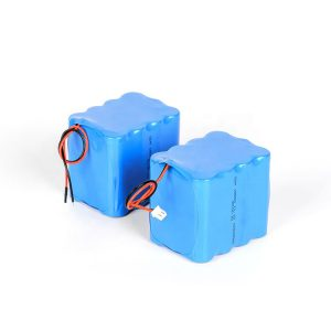 Customized rechargeable lithium battery 18650 high discharge 3s4p 12v li ion battery pack