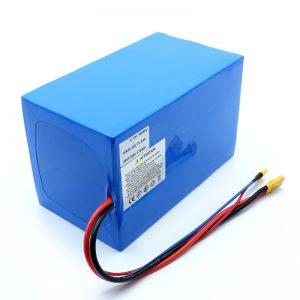 Lithium Battery 18650 48V 51.2AH 24v 30V 60V 15ah 20Ah 50Ah Li-ion Batteries 18650 48V Lithium ion Battery Pack for Electric Scooter