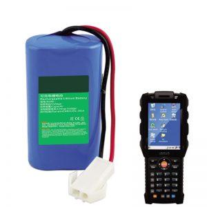 18650 7.2V 2.6Ah Lithium Battery for Express logistics handheld terminal equipment