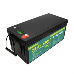 Rechargeable 24v180ah(LiFePO4) Battery Pack For Solar Street Light