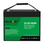 25.6V 40Ah Lithium Iron Phosphate Battery/Replacement