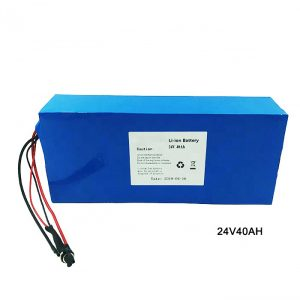 Electric Bike Bicycle 24 Volt Lithium Battery 24V 40Ah NMC Li Ion Battery Pack Rechargeable battery ion lithium