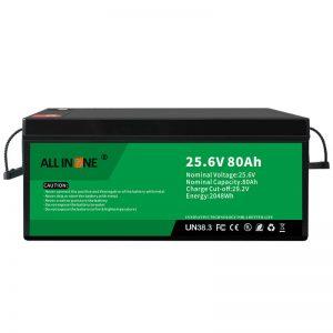 25.6V 80Ah safety/long life LFP battery for RV/Caravan/UPS/Golf Cart 24V 80Ah