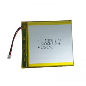 3.7V 2200mAh Polymer lithium batteries for smart home devices