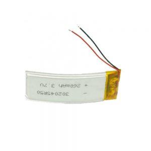 LiPO Customized Battery 302045 3.7V 260mAh