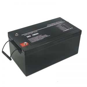 Deep cycle waterproof lithium ion 36v 100ah lifepo4 battery pack 36v for marine boat and ev