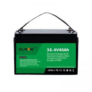 8.4V 40Ah Lithium Iron Phosphate Battery for VPP/SHS/Marine/Vehicle 36V 40Ah