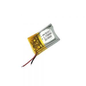 High quality lithium polymer battery 3.7V 50mAh 581013 battery
