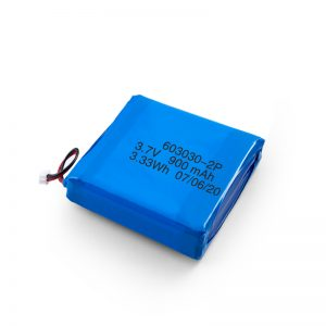 Custom Rechargeable 3.7V 450 530 550 700 750 800 900Mah Li-Po Lipo Battery