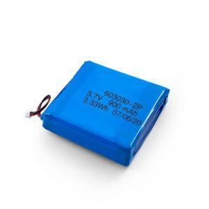 Custom Rechargeable 3.7V 450 530 550 700 750 800 900Mah Li-Po Lipo Battery