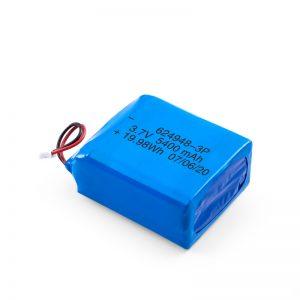 LiPO Rechargeable Battery 624948 3.7V 1800mAH/ 3.7V 5400mAH