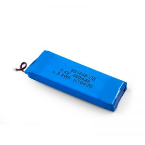 LiPO Rechargeable Battery 651648 3.7V 460mAh/ 3.7V 920mAH/ 7.4V 460mAH