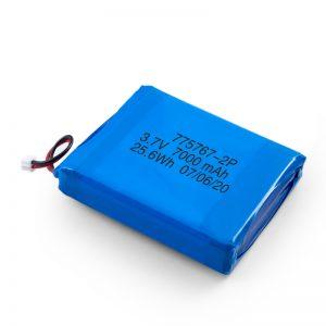 Custom 3.7V 2450 2600 3900 4000 4500 4700 5000 6000 9000Mah Polymer Lipo Battery