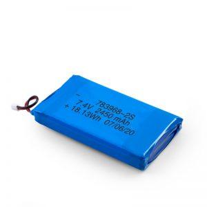 LiPO Rechargeable Battery 783968 3.7V 4900mAH/7.4V 2450mAH/ 3.7V 2450mAH/
