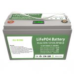 ALL IN ONE Deep cycle 12V100Ah LiFePO4 Battery with intelligent BMS for household Energy Storage Syste