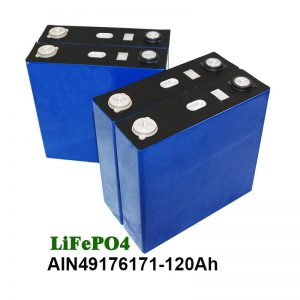 LiFePO4 Prismatic Battery 3.2V 120AH for solar system motorcycle UPS