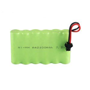 NiMH Rechargeable Battery AA 2400mAh 7.2V