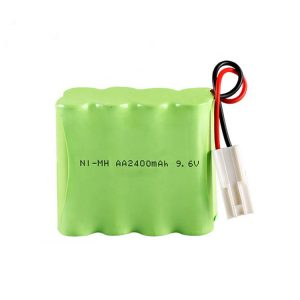 NiMH Rechargeable Battery AA2400 9.6V