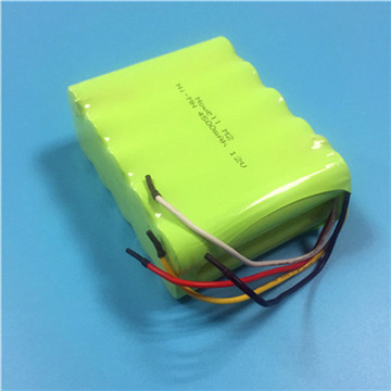 3.6V 2/3AA size 300mAh rechargeable NiMH Battery
