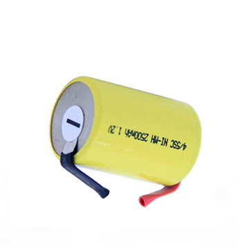 AA 6V 1800mAh NiMH Rechargeable Battery for Emergency Light