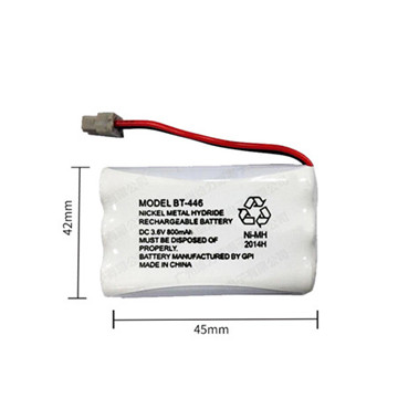 Rechargeable Battery NiMH AAA 3.6V 900mAh with Tap Wires