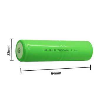 1/2AA NiMH 3.6V 500mAh Rechargeable Battery Packs Ni-Mn Battery Best Quality