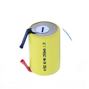 NiMH Cell 7.2V 1650mAh Battery Pack with IEC Certification