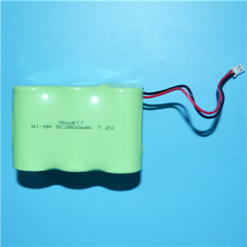 600mAh 1.2V Ni-MH Battery for Toy Car