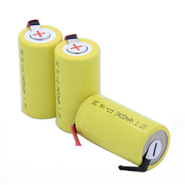 Ewt NiMH 2400mAh 6V Lithium Battery Pack for Solar