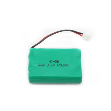 Rechargeable 2/1AAA NiMH 2.4V 230mAh Battery Cell for