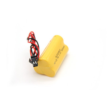 Ni-MH 3.6V 1000mAh Battery Pack, Imr Aw Battery
