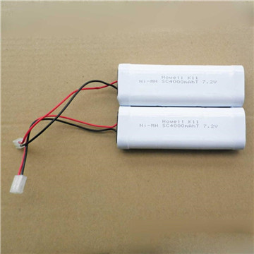 Sc Size 7.2V 800mAh Ni-MH Rechargeable Battery Pack