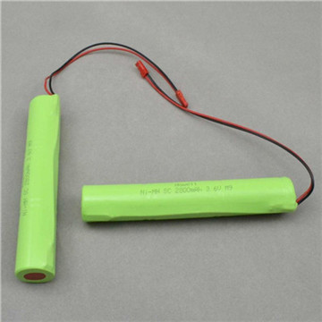 NiMH Rechargeable Battery Pack 2/3AAA 3.6V 300mAh Batteries Factory Directly