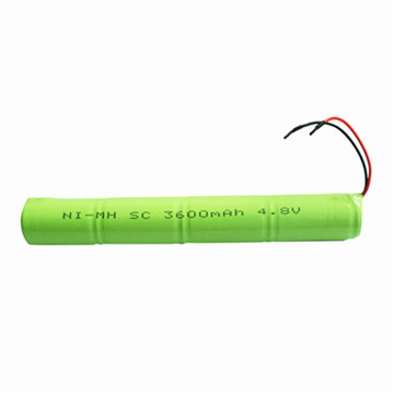 AA 1200mAh 6V Rechargeable NiMH Battery Pack for Street Light