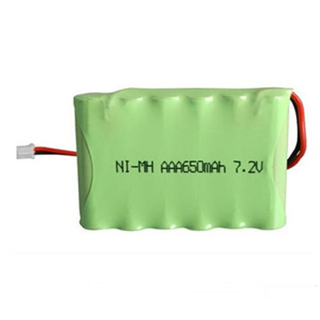 NiMH Button Battery 60mAh 3.6V Rechargeable Battery Pack with Solder Pins for Remote Control Switch