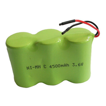 Rechargeable NiMH Ht Battery Pack 4.8V 2100mAh High Power Type for Medical Device Battery