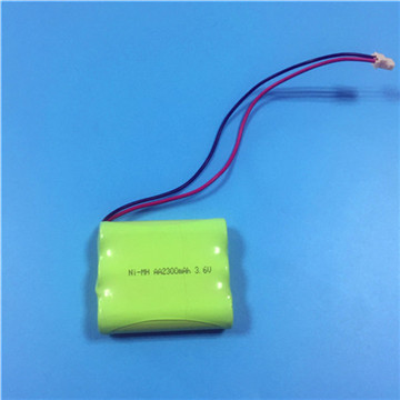 3.6V 600mAh Ni-MH Rechargeable Battery Pack