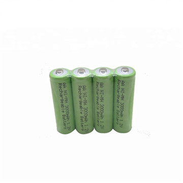 Cylindrical Sealed NiMH AA Cell Battery 6V 1800mAh