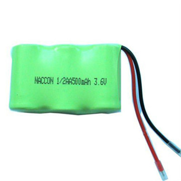 1.2V AA 2500 mAh High Capacity Ni-MH Rechargeable Battery