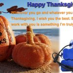 ALL IN ONE Battery Thanksgiving Letter To Clients